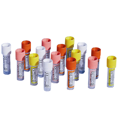 Blood Collection Tubes with Push Cap