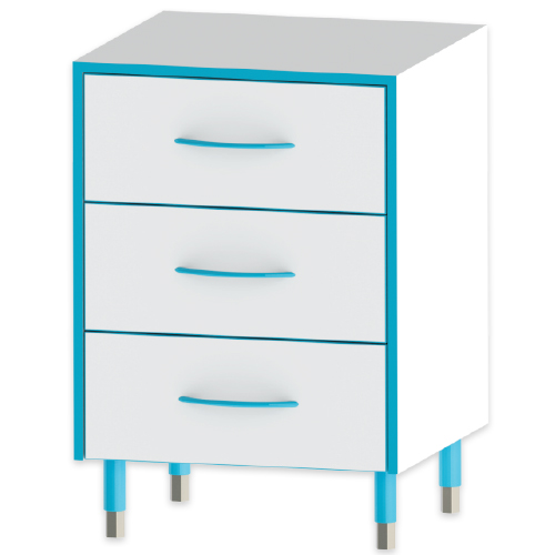 Sealwise 3 Drawer Unit - 300mm