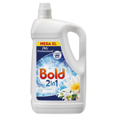 Bold 2 in 1 Laundry Liquid