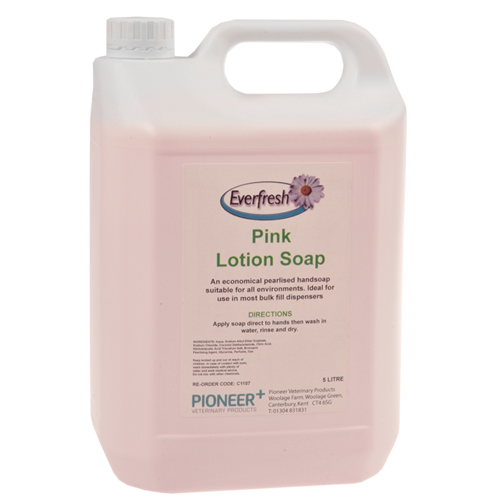 Everfresh Pink Lotion Soap