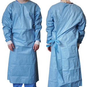 Sterile Laminated Surgical Gown (Colic)