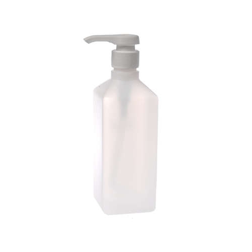 Square Lotion Pump Bottle