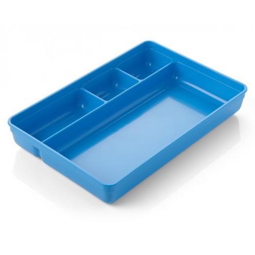 Blue Compartment Tray 270 x 180 x 41mm