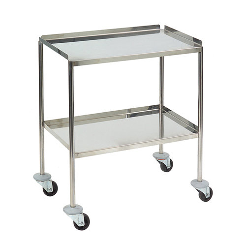 Flush Welded Dressing/Instrument Trolley